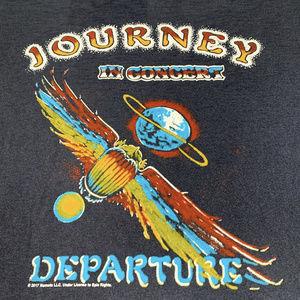 Journey In concert 1980 vtg style tee S